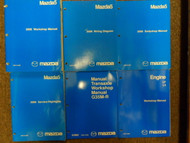 2006 Mazda5 Mazda 5 Service Repair Shop Manual 6 VOLUME SET FACTORY OEM BOOKS