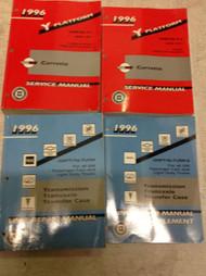 1996 Chevrolet Chevy CORVETTE Service Repair Shop Manual SET W TRANSMISSION UNIT