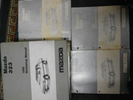 1990 Mazda 323 Service Repair Shop Manual Set FACTORY HOW TO FIX BOOKS HUGE x