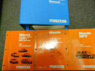 1997 Mazda MPV Van Service Repair Shop Manual SET OEM FACTORY BOOKS 97 x