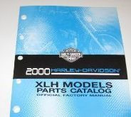 2000 Harley Davidson Sportster XLH Parts Catalog Manual FACTORY OEM NEW X