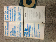 1985 FORD CROWN VICTORIA TOWN CAR GRAND MARQUIS Service Shop Manual SET W LOTS
