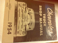 1954 CHEVY TRUCK TRUCKS Chevrolet Service Shop Repair Manual NEW RS56SM x