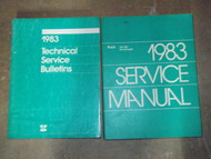 1983 Dodge Ramcharger DW 150 250 350 Service Shop Repair Manual SET W TECH
