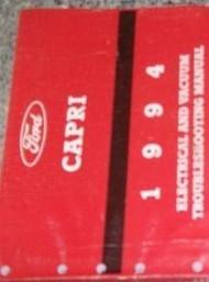 1994 FORD CAPRI Electrical Wiring Diagrams EWD EVTM Service Shop Manual 94 OEM