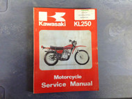 1977 1978 1979 KAWASAKI KL250 KL 250 Service Shop Manual A1 99924100801 OEM x