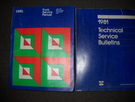 1981 Dodge Ramcharger 150 250 450 Service Shop Repair Manual Set FACTORY OEM