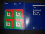 1981 Dodge Ramcharger 150 250 450 Service Shop Repair Manual Set FACTORY OEM