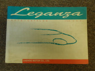 1999 DAEWOO LEGANZA Parts Catalog Shop Manual FACTORY OEM BOOK 99 DEALERSHIP