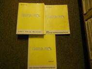 2001 Hyundai Santa Fe Service Repair Shop Manual Set FACTORY BOOKS OEM 01 x