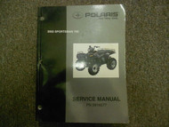 2002 Polaris Sportsman 700 Service Repair Shop Manual FACTORY OEM BOOK 02 DEAL x