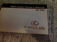1997 LEXUS ES300 ES 300 Owners Manual FACTORY DEALERSHIP GLOVE BOX
