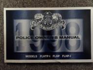 1998 Harley Davidson Police Model Owners Manual FACTORY DEALERSHIP OEM BOOK x