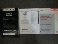 1991 Chrysler Laser Talon Service Repair Shop Manual 3 VOLUME SET DAMAGED OEM 91