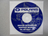 2004 2005 POLARIS SCRAMBLER Service Repair Shop Manual CD FACTORY OEM 04 05 x