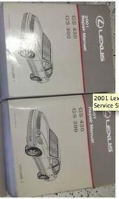 2001 Lexus GS430 GS300 GS 430 GS 330 Service Shop Repair Manual SET FACTORY NEW