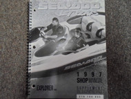 1997 Sea Doo Explorer Service Repair Shop Manual Supplement FACTORY OEM BOOK x
