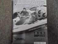 1997 Sea Doo Explorer Service Repair Shop Manual Supplement FACTORY OEM BOOK x