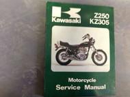 1979 1980 1981 KAWASAKI Z250 KZ250 KZ305 Service Repair Shop Manual 99924101903x