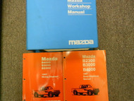 1997 Mazda B-Series Truck B2300 3000 4000 Service Repair Shop Manual SET BOOKS x
