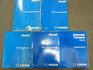 2004 Mazda 3 MAZDA3 Service Repair Shop Manual FACTORY OEM BOOKS 5 VOLUME SET 04