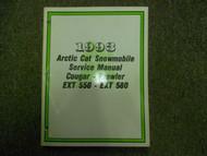 1993 Arctic Cat Cougar Prowler EXT 550 EXT 580 Service Repair Shop Manual OEM x