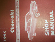 1960 Chevrolet CHEVY CORVAIR Maintenance Shop Manual FACTORY OEM BOOK USED