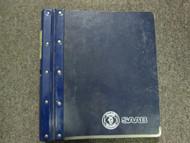 1994 Saab Parts & Accessories Policies & Procedures Shop Manual FACTORY OEM 94