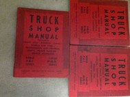 1962 DODGE PLYMOUTH FARGO P R S FP FR FS Service Shop Repair Manual SET 3 VOLUME