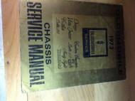 1973 Oldsmobile F85 CUTLASS 442 VISTA DELTA TORNADO 88 Service Shop Manual OEM