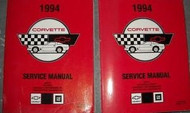 1994 Chevrolet Chevy CORVETTE Service Repair Shop Manual SET BRAND NEW X 1994