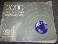2000 Ford Crown Victoria & Mercury Grand Marquis Electrical Wiring EWD Manual