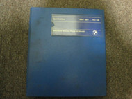 1980s BMW 320i-733i Specifications Shop Manual FACTORY OEM BOOK 80s 2nd Edition
