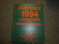 1990 1994 Chiltons All Models All Makes Labor Guide & Parts Manual Mechanics EDI
