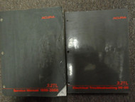 1999 2000 Acura 3.2TL Service Repair Shop Manual SET W ELECTRICAL BK BRAND NEW