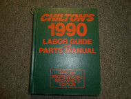 1982 1986 Chiltons All Models All Makes Labor Guide & Parts Manual Mechanics EDI