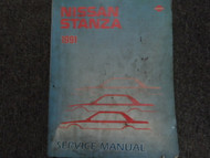 1991 Nissan Stanza Service Repair Shop Manual FACTORY OEM BOOK USED 91