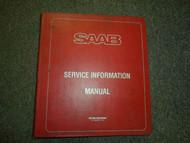 1987 88 89 1990 Saab All Models Technical Service Information Bulletins Manual