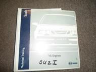 1970s 1980s 1990s 00s Saab 9000 Parts Service Training V6 Engine Repair Manual