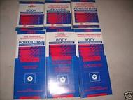 1993 Eagle Vision Repair Service Shop Manual Set OEM FACTORY BOOKS 93 DEALERSHIP