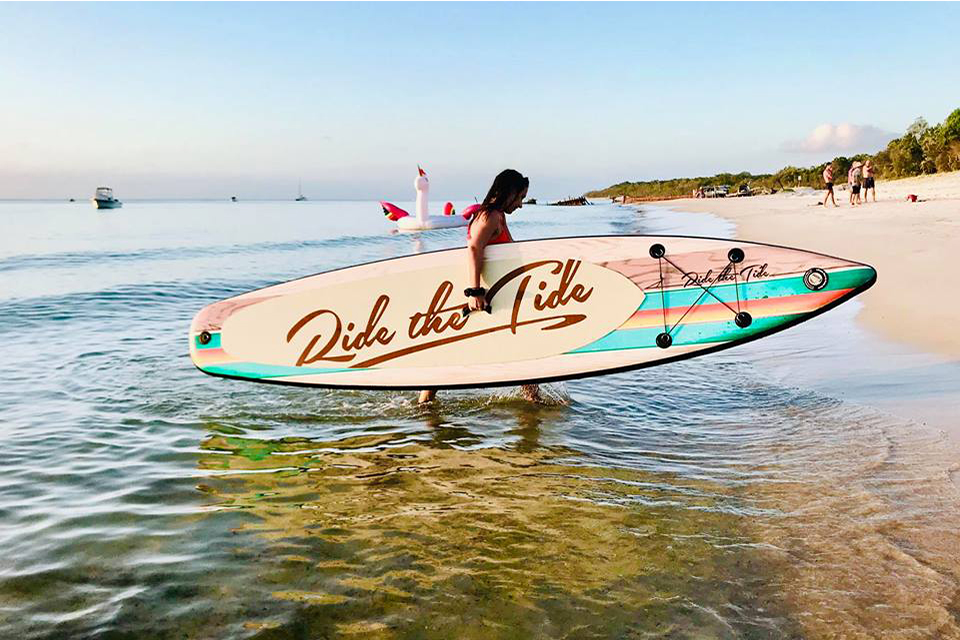 ride the tide inflatable sup