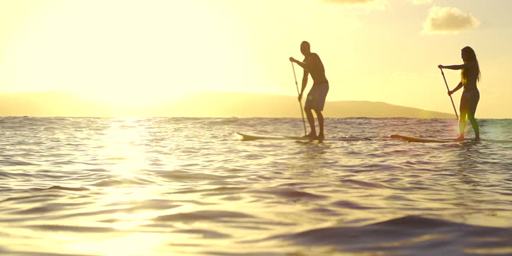 best places to SUP Wattamolla Beach NSW