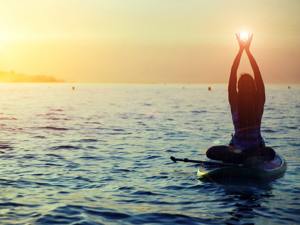 meditation sup yoga