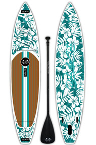 12 ft. 6 Shaka Inflatable SUP Package