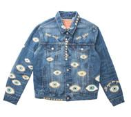 SOLD OUT Metallic Evil Eye Jacket #5
