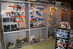 See our bb guns shops - full info of location & times etc