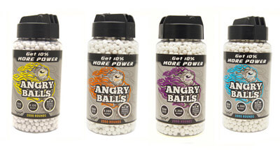 angry ball bb pellets