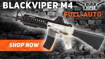 blackviper M4 AEG AIRSOFT GUN