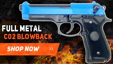 well g195 co2 metal blowback pistol
