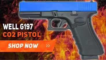 well g197 gas bb gun pistol